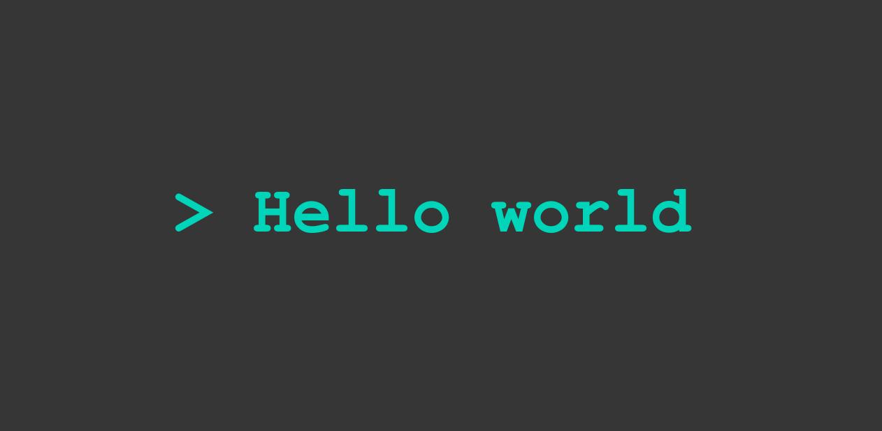 hello world new black میز وردپرس