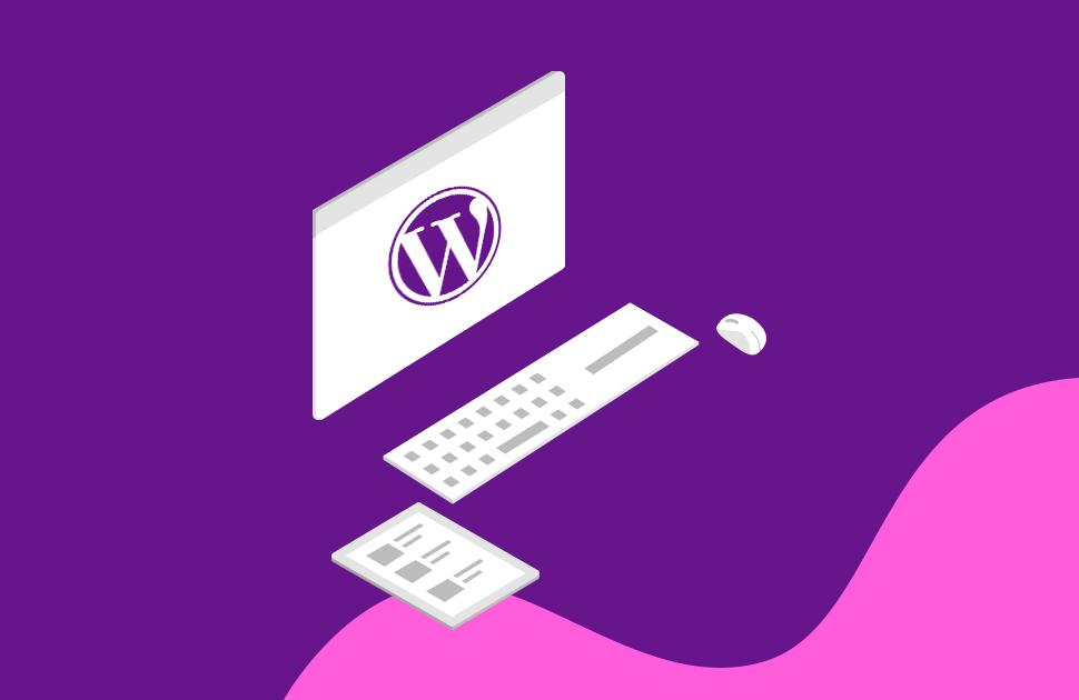how to create a wordpress website میز وردپرس