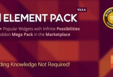 Element Pack Addon Elementor WordPress Plugin میز وردپرس